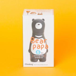 Bear Papa Ratchet Grey Screwdriver