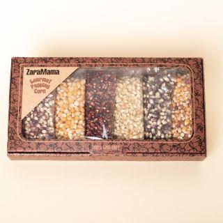 ZaraMama Gourmet Popping Corn Gift Box - 6x90g