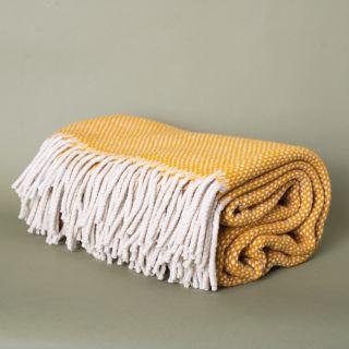 Burel Mondeguinho Blanket White Pearl and Yellow