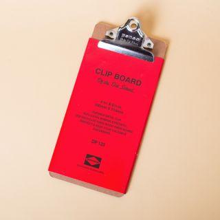 Penco DP133 Clipboard Check Silver