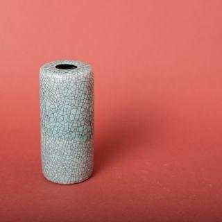 Kim Ka Mi Small Cylinder Vase Crackled