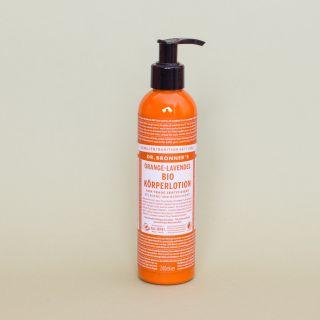 Dr Bronner Orange Lavendel Körper Lotion 240ml