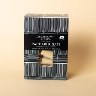 The Geometry of Pasta Paccari Rigati