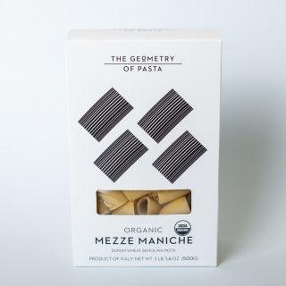 The Geometry of Pasta Organic Mezze Maniche