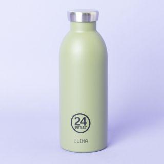 24Bottles Clima Bottle Sage 500ml