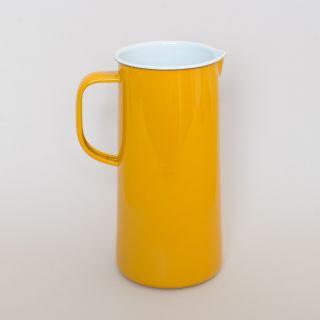 Falcon Enamelware 3 Pint Jug Mustard Yellow