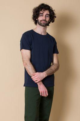 Kitchener Items Marlon SS Uni T-Shirt Dark Sapphire