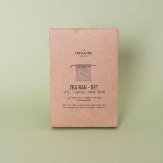The Organic Company Reusable Tea Bags - Set