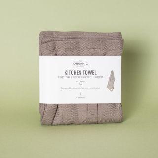 The Organic Company Kitchen Towel Clay