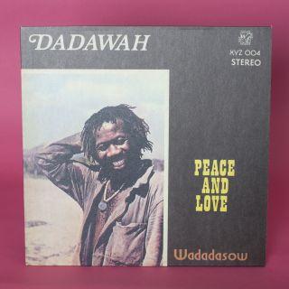 Honest Jons Records Dadawah - Peace and Love