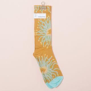 Bonne Maison Socks Ochre Anemone