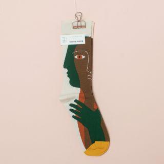 Bonne Maison Socks Natural Head
