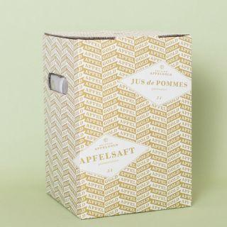 Apfelgold Apfelsaft Glockenapfel Box