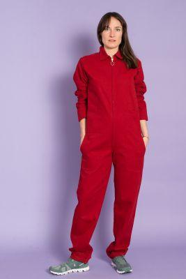 Colchik Unisex The Boilersuit Red