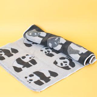 Anorak Organic Cotton Bath Mat Pandas
