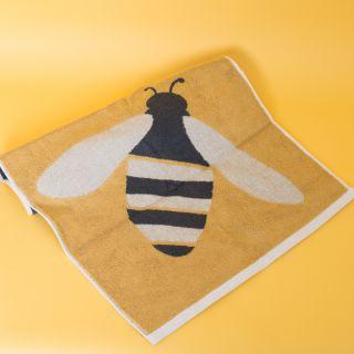 Anorak Organic Cotton Hand Towel Buzzy Bee