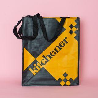 Shopper Mustard & Black