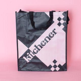 Shopper Pink & Black
