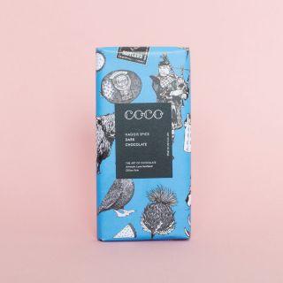 COCO Haggis Spice Dark Chocolate 61%