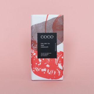 COCO Earl Grey Tea Dark Chocolate 61%