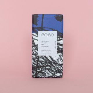 COCO Isle Of Skye Sea Salt Milk Chocolate 40%