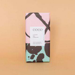 COCO Lavender Milk Chocolate 40%