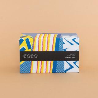 COCO Sea Salt Dark Chocolate Wafer Thins 56%