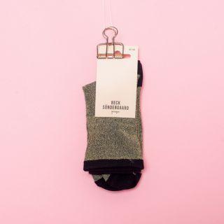 Becksöndergaard Dina Solid Coll. Socks Gold