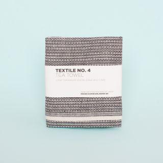 Textile No. 4 Tea Towel Yinyang Wheat/Black