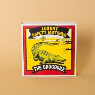 Archivist Gallery Luxury Matches Crocodile