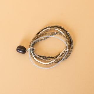 Nirmala Smokey Quartz Silver Bracelet