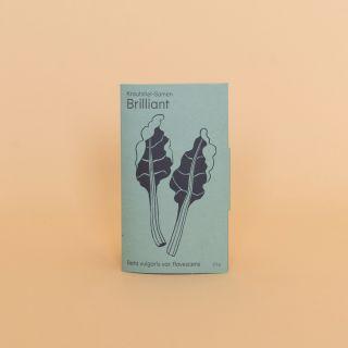 Gorilla Gardening Saatgut Krautstiel (Mangold) Samen - Brilliant
