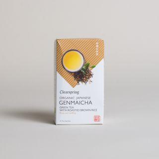 Clearspring Organic Japanese Genmaicha - 20 Tea Sachets