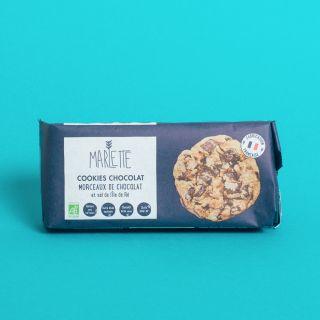 Marlette Cookies Chocolat & Sel de l'Île de Ré