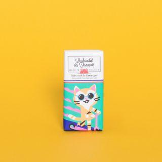 Le Chocolat des Francais Mini Bar Extra Dark 71% with Salt from Camargue