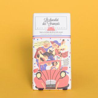 Le Chocolat des Francais Extra dark 71% with Cocoa Nibs