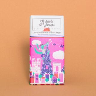 Le Chocolat des Francais Milk Chocolate with Crispy Cereals