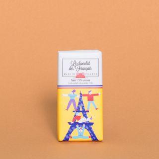 Le Chocolat des Francais Mini Bar Extra Dark 71%
