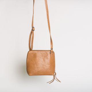 Kitchener Items New Box Bag Tan Analin Tumble