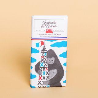 Le Chocolat des Francais Milk Chocolate with Salted Caramel