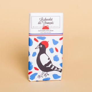 Le Chocolat des Francais Tender Milk Chocolate 41%