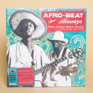 Analof Africa Afro-Beat Airways - West African Shock Waves - Ghana & Togo 1972-1978 LP