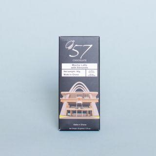 '57 Chocolate Mocha Latte Chocolate with Almonds