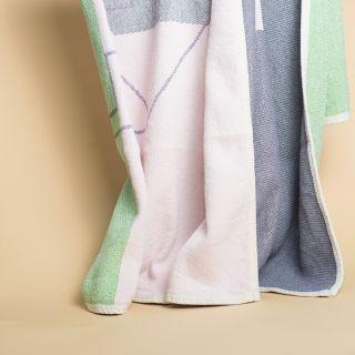 ZigZag Zürich A to B Blanket / Throw by Yanyi Ha