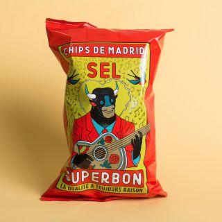 Superbon - Chips de Madrid - Sel