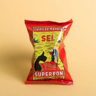 Superbon - Chips de Madrid - Sel - Small Pack
