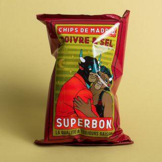 Superbon - Chips de Madrid - Poivre & Sel