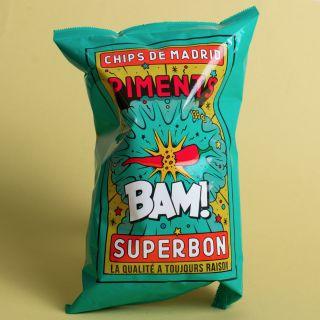 Superbon - Chips de Madrid - Piments