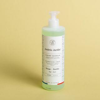 Andrée Jardin Dishwashing Soap Organic Olive Oil Sage - Basil