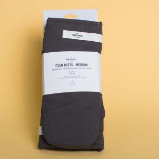 The Organic Company Oven Mitts Medium - Dark grey